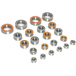 T-Work's Kit Roulements 22pcs X-Ray T4 2020 BBS-T420