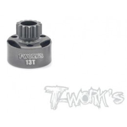 T-Work's Cloche d'Embrayage LightWeight 13 Dents TG-064-13