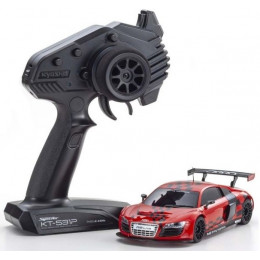 Kyosho Mini-Z RWD Audi R8 LMS Rouge Driving Experience 2010 + KT531P RTR 32329SR