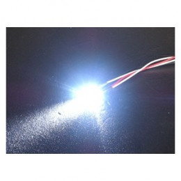 3RACING - LED Normale 3mm Blanc - 3RAC-NLD03/WI