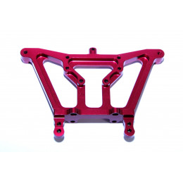 GPM Support amortisseur arriere alu rouge Rustler RUS030-R