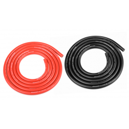 Team Corally Fil Silicone Ultr V+ 12AWG 2x1m C-05112