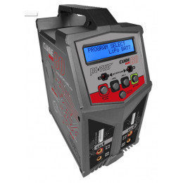 RC PLUS Chargeur Cube 80 Duo AC/DC RC-CHA-211